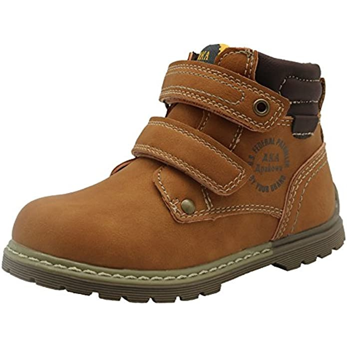 Apakowa Toddler Boy's Cowboy Ankle Boots