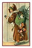 Orenco Originals Santa Bunny Victorian Father Christmas Counted X Stitch Pattern