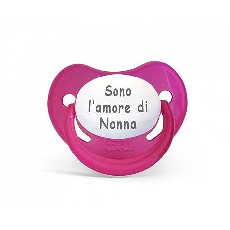 Chupete Canpol con la frase en italiano