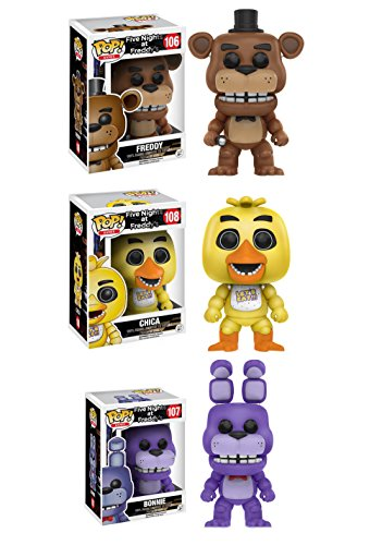 Funko Five Nights At Freddy's: Pop! Games Collectors Set -  G847944001553
