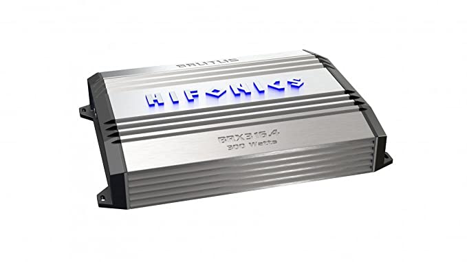 Hifonics BRX616.4 Brutus 4-Channel Super Class-A/B Amplifier,