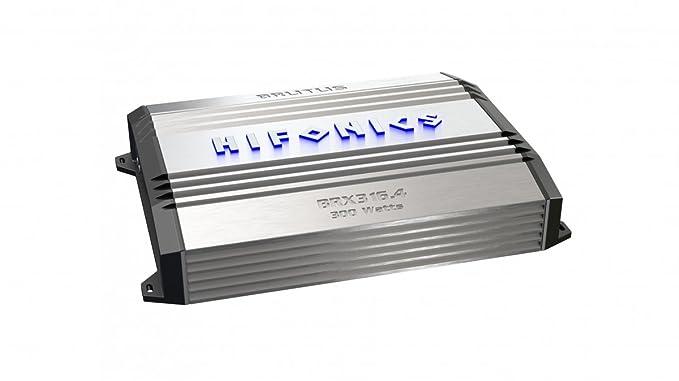 Hifonics BRX616.4 Brutus 4-Channel Super Class-A/B Amplifier,