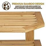Bamboo Corner Shelf Storage Organizer - 3 Tier