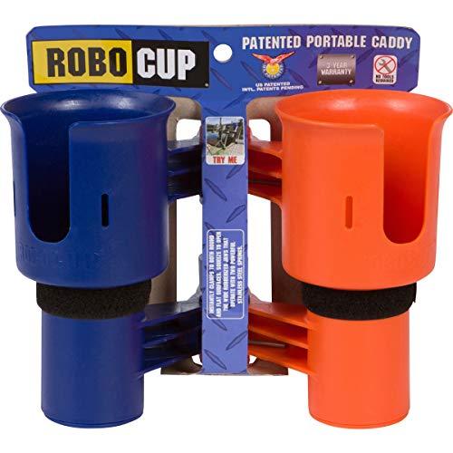 ROBOCUP, Orange&Navy, Upgraded Version, Best Cup Holder for...
