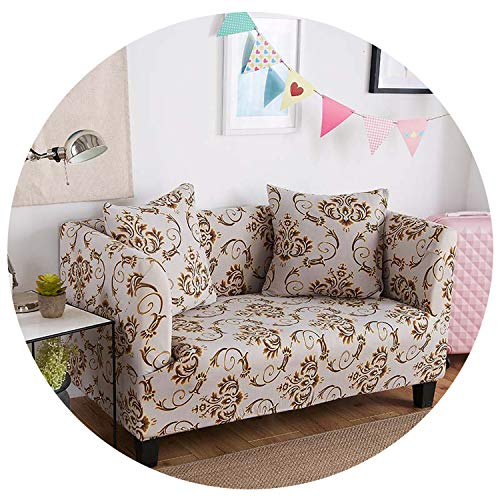 - Floral Sofa Cover Slipcovers Tight Wrap All-Inclusive Sofa Couch Cover Towel Furniture Protector 1/2/3/4 Seater,Color 7,3-Seater 190-230Cm