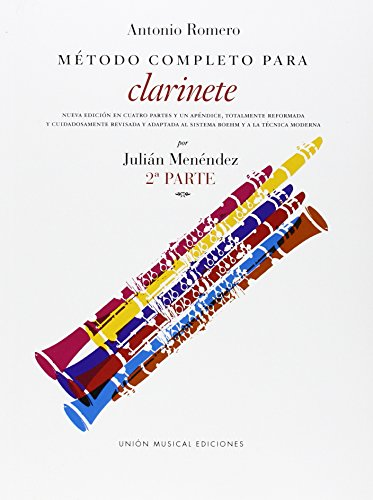 Descargar Libro Romero Metodo Completo Para Clarinete : Pt. 2 #value!