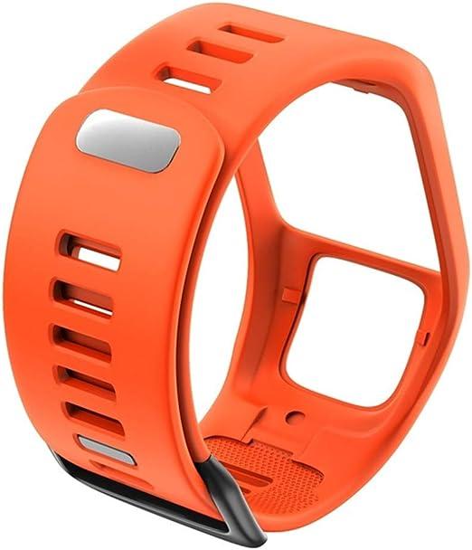 Bracelet de remplacement en silicone pour montre TomTom Spark Runner série 3//2