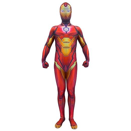 NDHSH Avengers Iron Man Cosplay Disfraz de Halloween Niño Adulto ...