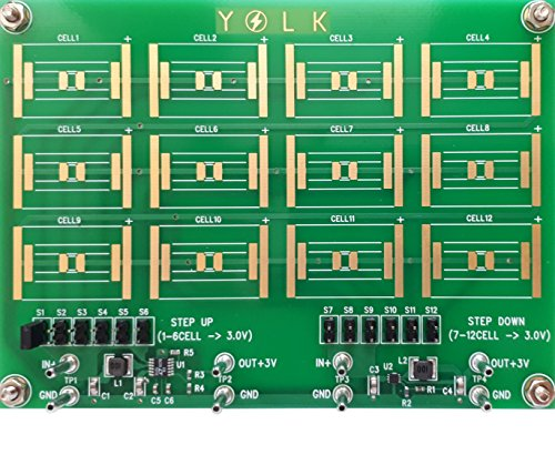 (3) YKSM-TUD001 + Core solar cell set (Width 20mm - height 8mm - 0.5v - 60mA) x 12 pieces by YOLK