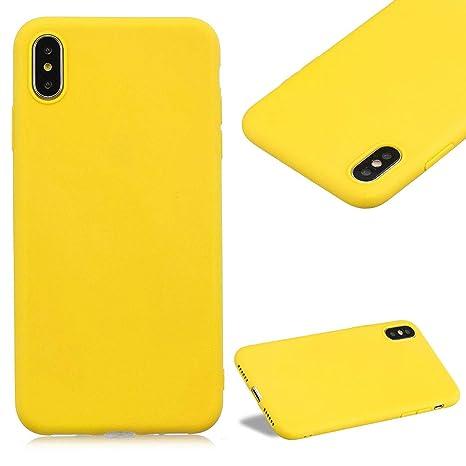 coque iphone x couleur unie