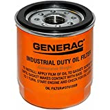 Generac Part #: 070185B - OIL FILTER 75 LONG, Colors Vary