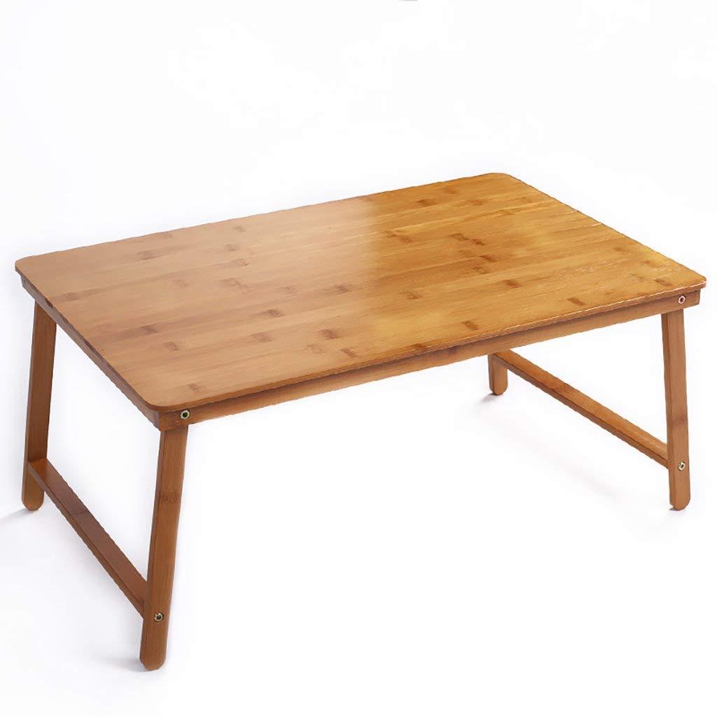 venta con descuento Wghz Mesa Plegable Mesa portátil de bambú Mesa Mesa Mesa Plegable Cama Cama Mesa Escritorio Mesa portátil  precios ultra bajos
