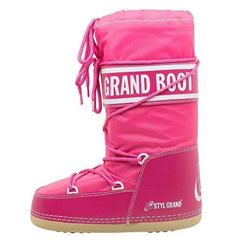 Boot Artica Woman Children Man Winter Snow Rose Boots Ny Grand Rw61qq