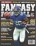 Pro Forecast Fantasy Football 2019 Magazine