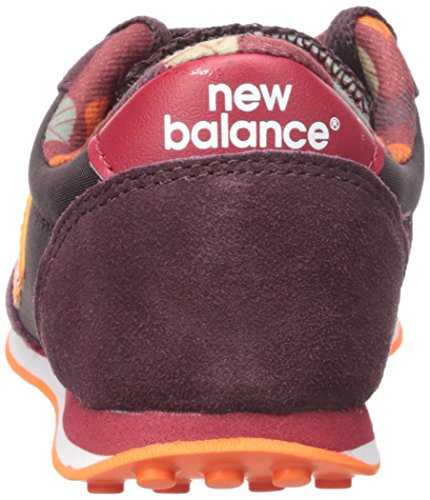 Zapatilla New Balance jr KL410 Burgundy Burgundy