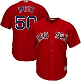 Mookie Betts Boston Red Sox #50 Youth Cool Base Alternate Jersey Red