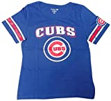 Chicago Cubs Women's Short Sleeve Scoop Neck Baby Jersey