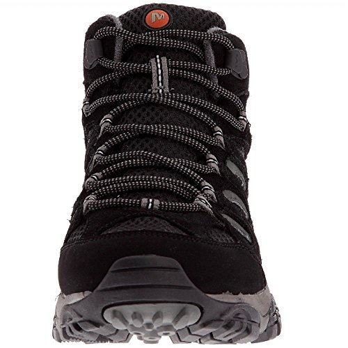 Women's Black Hiking Merrell up Moab Rise High Lace Gore Mid Tex wwPIxqzvF