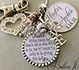 Daughter in Law wedding, Daughter Wedding gift, Bridal bouquet charm, wedding bouquet charm, bridal shower gift, personalized wedding gift, wedding gift for bride, wedding date, future daughter in law