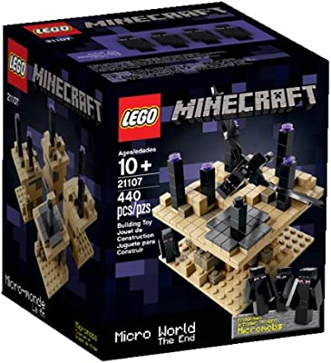 Lego Minecraft Micro World The End 21107 Discontinued By