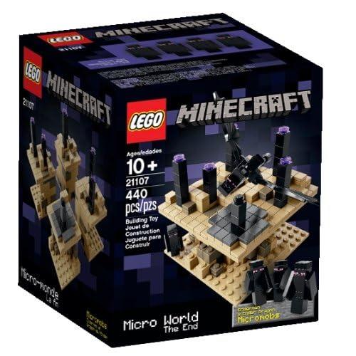 Lego – Minecraft – 21107 – Micro Monde – La Fin
