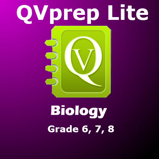 (QVprep Lite Science Biology Grade 6 7 8 for Sixth 6th Seventh 7th Eighth 8th Grade - Learn Biology)