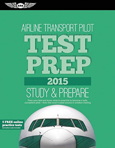 Airline Transport Pilot Test Prep 2015 Book and Tutorial Software Bundle (Test Prep series)