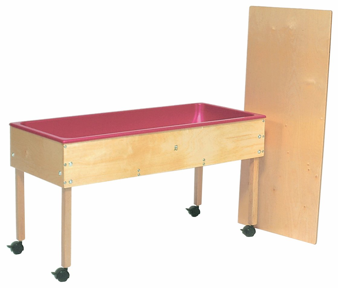 Amazon.com: Steffy Wood Products Sand And Water Table With Top: Kitchen U0026  Dining