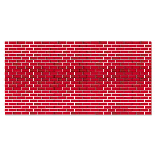 - Pacon 56475 Fadeless Designs Bulletin Board Paper, Brick, 48
