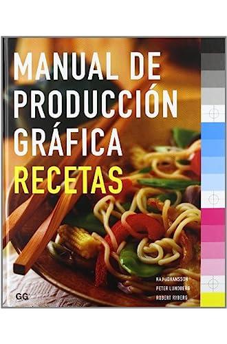 Manual De Produccion Grafica De Recetas