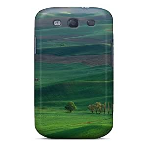 Wade-cases Fashion Protective Landscape Case Cover For Galaxy S3