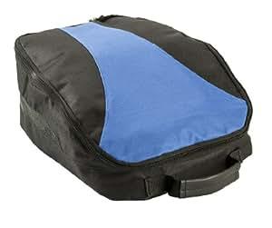 Izzo Golf #90592 Shoe Bag, Blue/Black