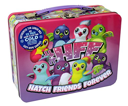 - Hatchimals 444707 Classic Lunch Box Sized Tin, 5