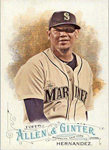 2016 Topps Allen and Ginter Baseball #265 Felix Hernandez Seattle Mariners (Seattle Mariners Photo Album)