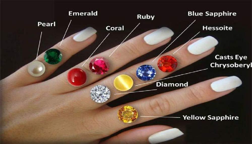 9.3 Ct./ 10.25 Ratti Natural Certified Ruby/Manik/Manak Panchdhatu Adjustable Women Ring by GEMS HUB by AKSHAY GEMS