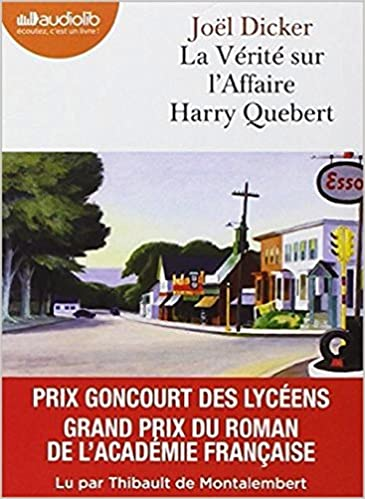 La Verite Sur L Affaire Harry Quebert Livre Audio 2 Cd Mp3
