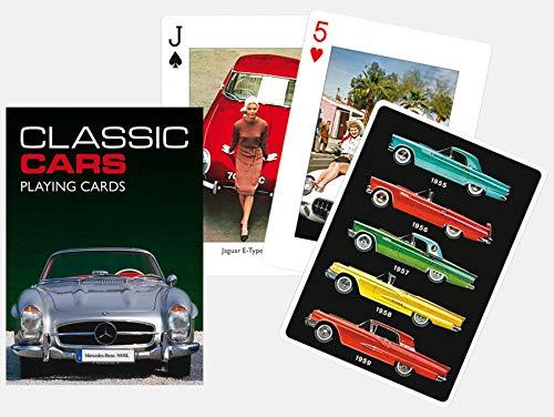 Piatnik 00 1650 Classic Cars Playing Cards