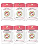 Method Naturally Derived Smarty Dish Dishwashing Tablets, Pink Grapefruit, 20 Count (Pack of 6)