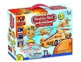 wood worx - AMAV Toys Wood Like Worx - Build It Safely Multi Color Kit