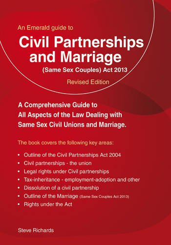Download Civil Partnerships and Marriage ebook