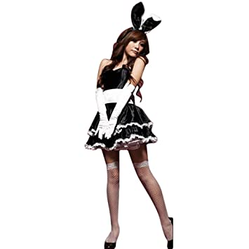 Xmiral 5Pcs Conjuntos de Vestido Mini Sexy para Disfraz Cosplay ...