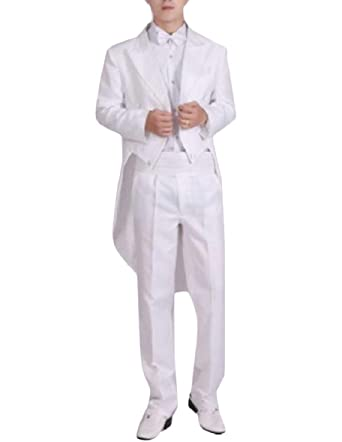 security - Traje - para Hombre Blanco Blanco M: Amazon.es ...