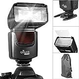 Altura Photo Speedlite Flash (AP-UNV1) for Canon Nikon Panasonic Olympus Fujifilm Pentax Leica and any Digital Camera with a Standard Hot Shoe Mount