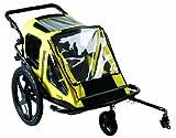 Dumper Explorer Duo - Remolque de bicicleta para niños