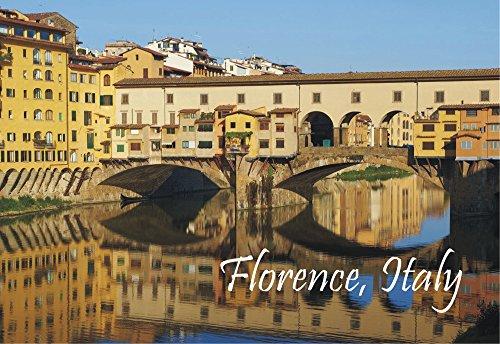 Vecchio Ponte Florence - Ponte Vecchio, Florence, Italy, Arno River, Bridge, Souvenir Magnet 2 x 3 Fridge Photo Magnet