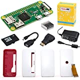 PC Hardware : CanaKit Raspberry Pi Zero W (Wireless) Complete Starter Kit - 16 GB Edition