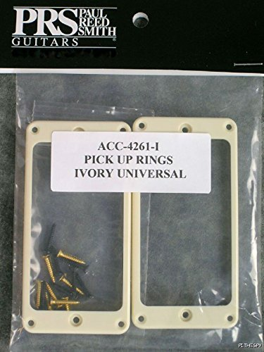 PRS Paul Reed Smith Ivory Guitar Pickup Rings Universal Stoptail or Tremolo (Smiths Tremolo Guitar)
