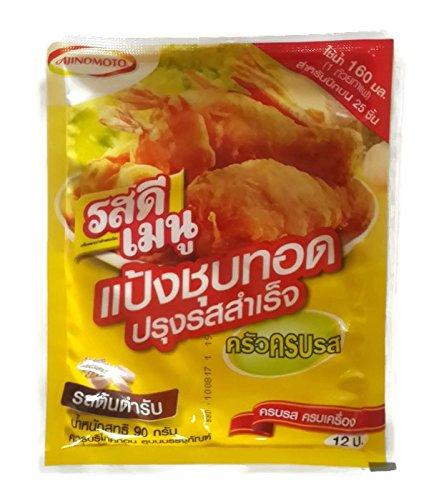 Ajinomoto Rosdee Menu Tempura Original Flavored Crispy Flour Flavor [Just Dip and Fry] 90g.x 4 Sachets