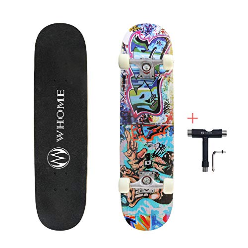 - WHOME Pro Skateboard Complete for Adult Youth Kid and Beginner - 31