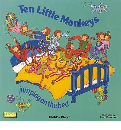 Price comparison product image Ten Little Monkeys Jumping on the Bed [Board book] by UNKNOWN ( Author )